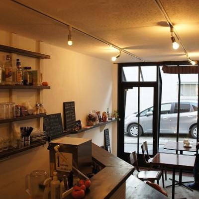 cafe iwabuti(東中野)|店舗設計・カフェ・シンプル・ナチュラル